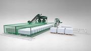 Обоpудование для производства газобетона,  пенобетона НСИБ