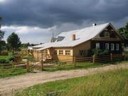 Отдых в деревне в гостевом доме у озера в Вологодской области